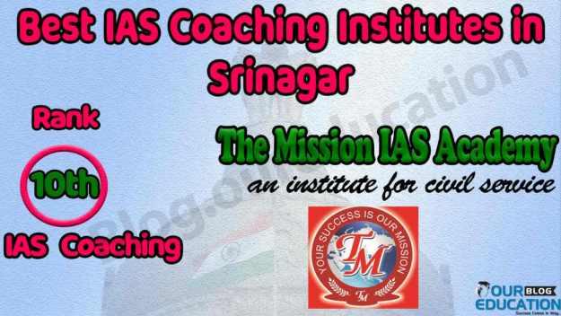 Top UPSC Coaching Institutes in Srinagar