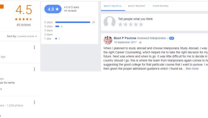 Manjoorans Education Academy Pvt Ltd Thiruvananthapuram Reviews