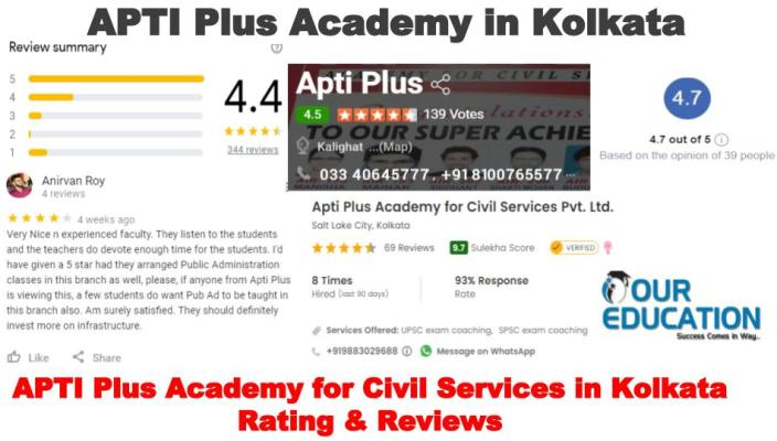 Apti Plus IAS Kolkata Reviews