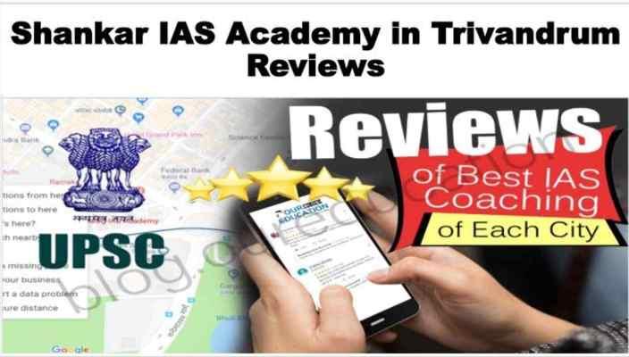 Shankar IAS Academy Trivandrum Reviews