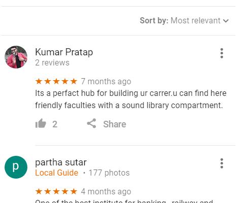 The Banker's Choice SSC Coaching Bhubaneswar Reviews