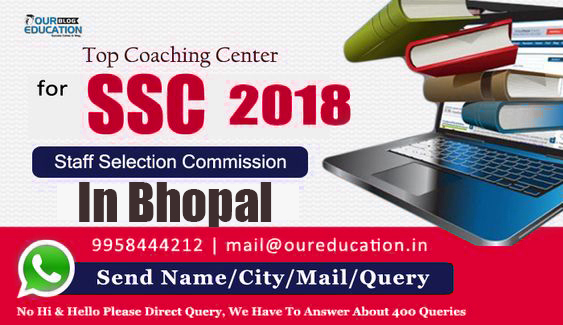 List Of Top 10 SSC Coaching Centers In Bhopal