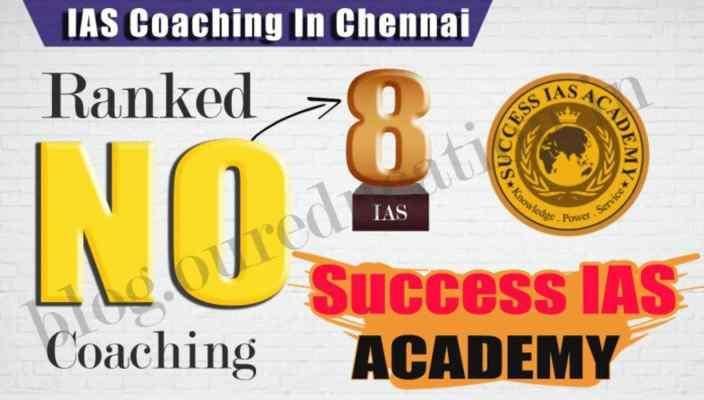 Rank 05 Best IAS Coaching institute in Chennai