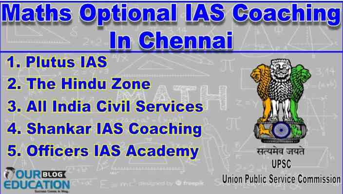 Top Maths Optional IAS Coaching Centres In Chennai