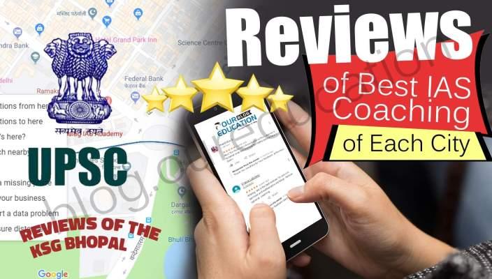 KSG IAS Bhopal Reviews