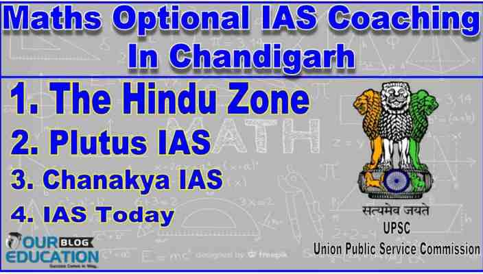 Top Maths Optional IAS Coachings In Chandigarh