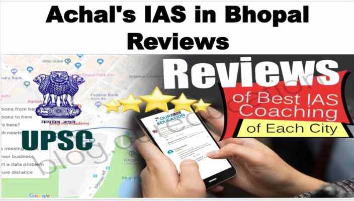 Achal's Academy in Bhopal Reviews