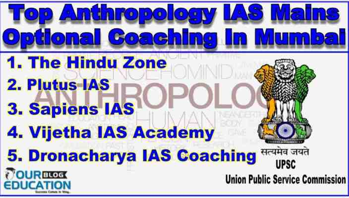 Top Anthropology Optional IAS Coachings in Mumbai