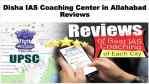 Disha IAS Coaching Center Allahabad Review
