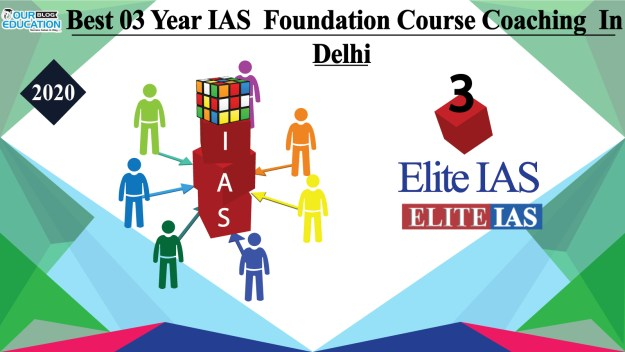 Best 03 Year IAS Foundation Course Coaching in Delhi