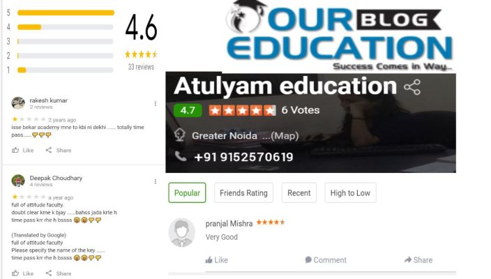 Atulyam Education SSC Coaching In Greater Noida Review