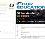 O2 IAS Academy in Chandigarh reviews