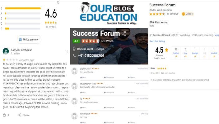 Success Forum MPSC Institute for MPSC in Mumbai