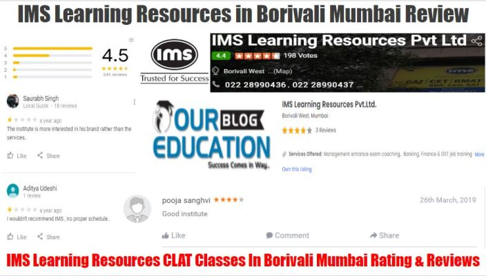 IMS Learning Resources CLAT Classes in Borivali Mumbai Review