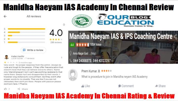 Manidha Naeyam IAS Academy in Chennai