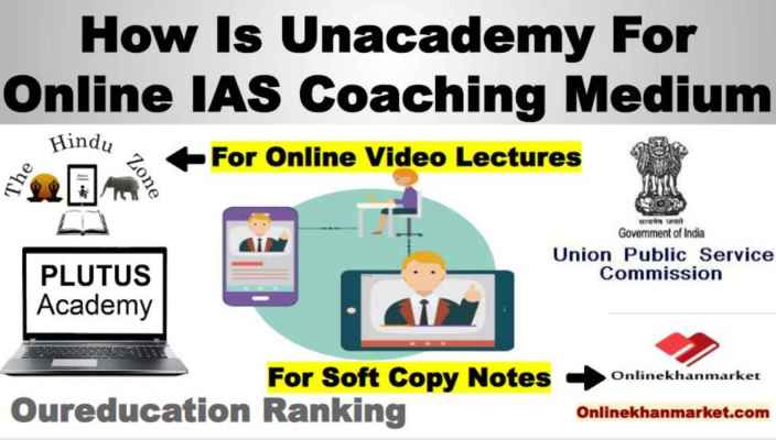 How is Unacademy For Online UPSC Coaching Medium