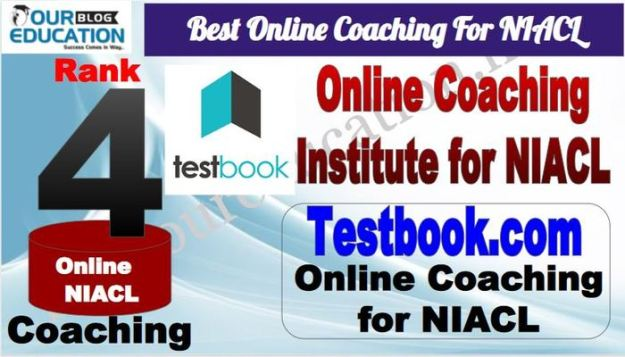 Rank 4 Best Online Coaching For NIACL