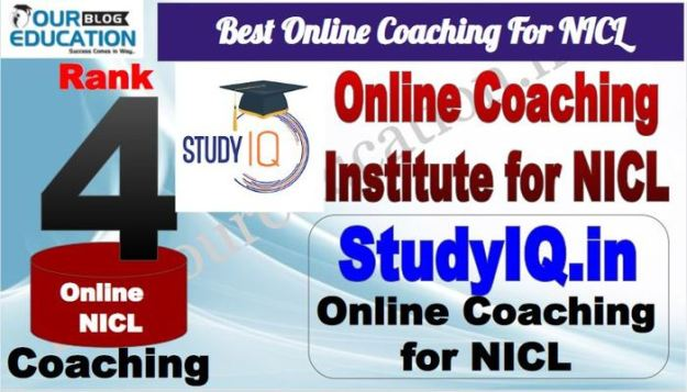 Rank 4 Best Online Coaching For NICL