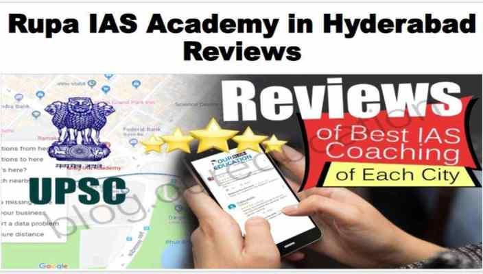 Rupa IAS Academy in Hyderabad Reviews