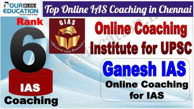 Top Online Civil Services Coaching in Chennai