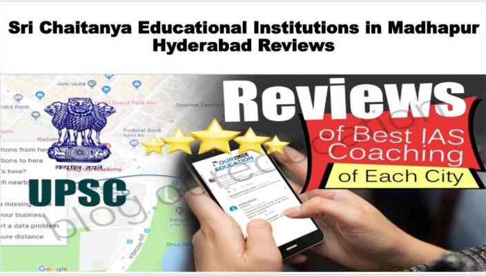 Sri Chaitanya Educational Institutions in Madhapur Hyderabad Review