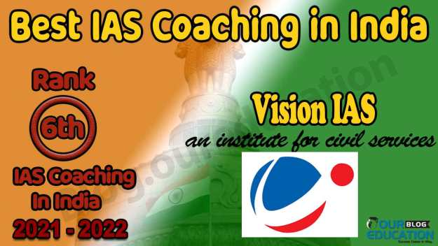 Top IAS Coaching in India 2021