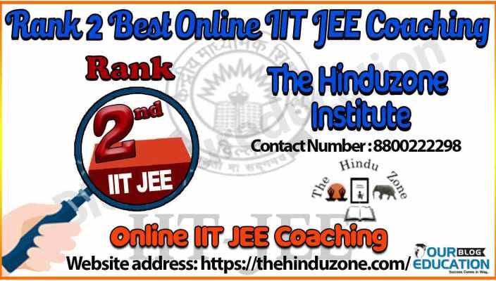 2 best Online IIT JEE Coaching