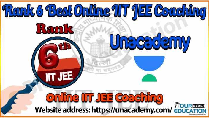 6 best Online IIT JEE Coaching