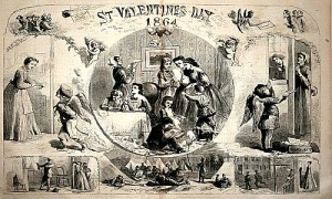 Valentine's Day card 1864