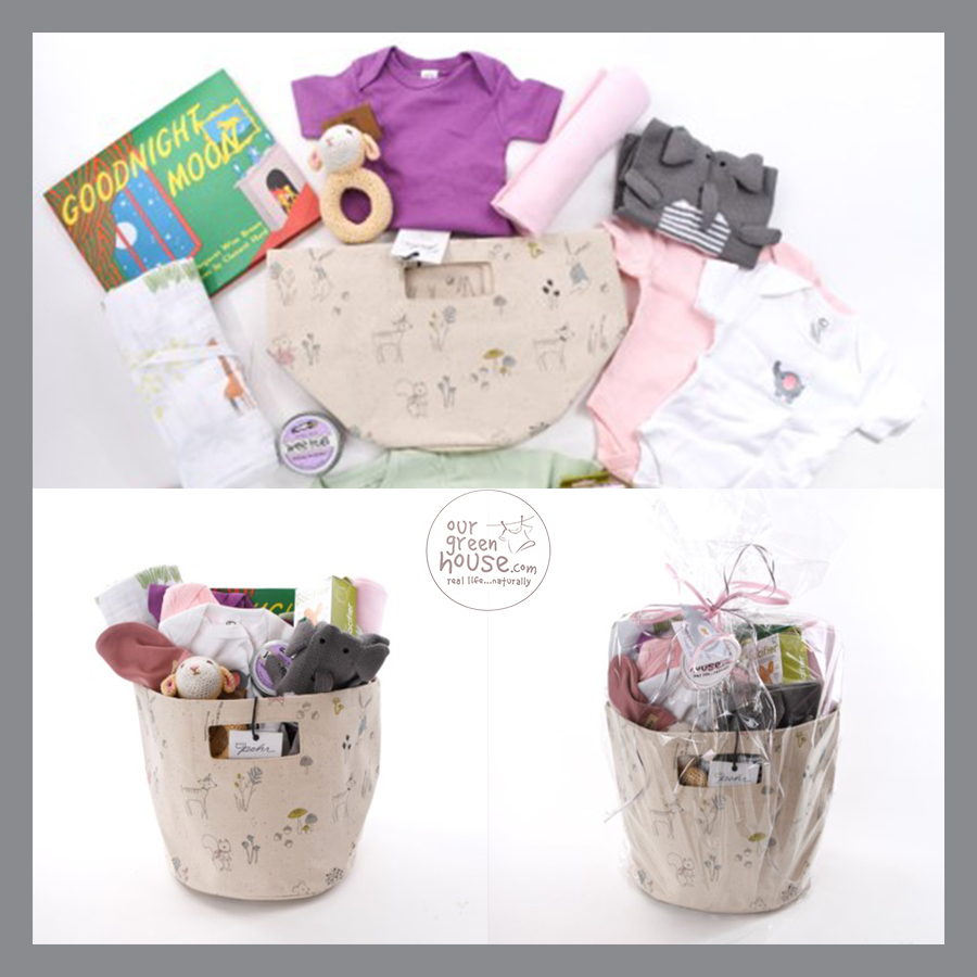 Darling Baby Girl Gift Basket - Feb 22