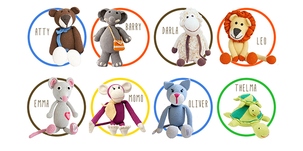 Bebemoss organic stuffed animals