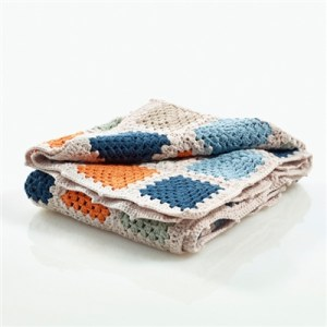 Organic Baby Blankets - Blue