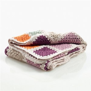 Organic Baby Blankets - crocheted