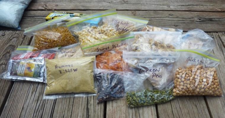 Preparing Backpacking Food