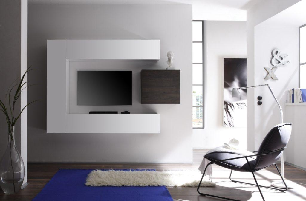 Soggiorni moderni di tendenza le nuove pareti attrezzate