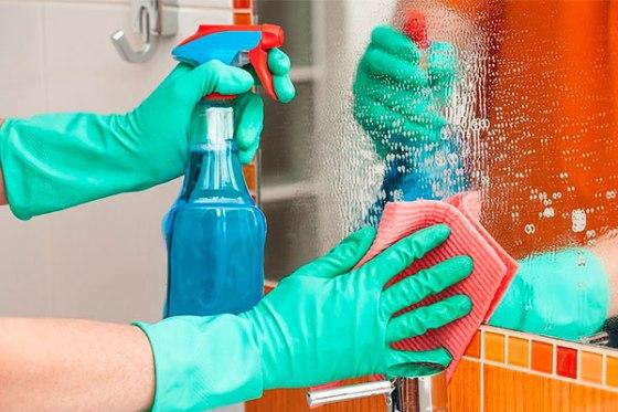 limpiar vidrios y ventanas