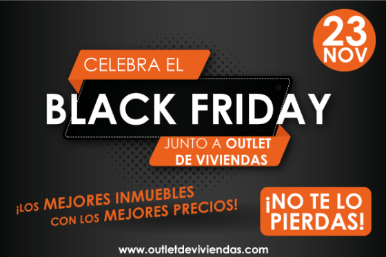 Black Friday en Outlet de Viviendas