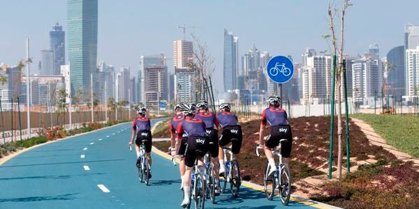 Viabilità a Dubai: in costruzione una pista ciclabile di 500 km
