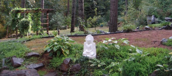 Buddha in the Hermitage Garden
