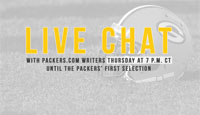 Packers.com's NFL Draft Chat - Day 1