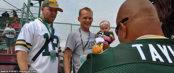 The Tailgate Tour's eighth year came to a close as the bus pulled into Lambeau Field after a 691-mile trek through Denmark, Little Chute, Neenah, Oshkosh, Waupun, Watertown, Delevan, Beloit, Monroe, Dubuque, Fennimore, Sparta, Tomah, Port Edwards and Wisconsin Rapids.