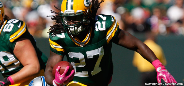Green Bay Packers RB Eddie Lacy