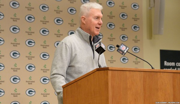 Packers GM Ted Thompson