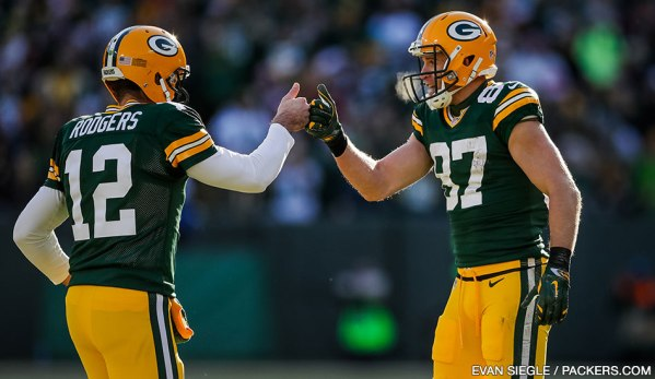 Packers QB Aaron Rodgers & WR Jordy Nelson