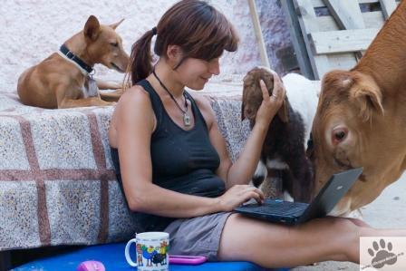 Elena y su familia