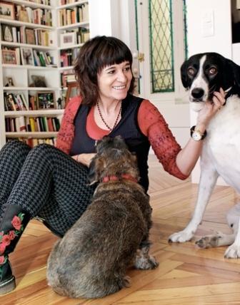 Rosa Montero y sus perras