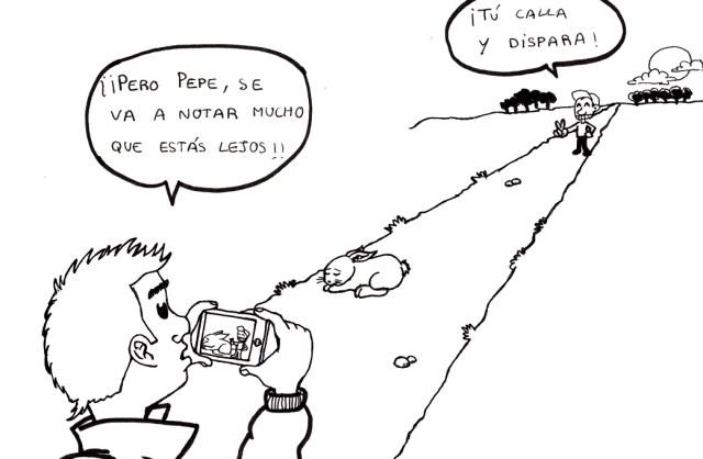 Las mentiras de los cazadores viñeta