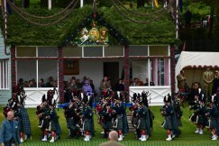 Queen Elisabeth - Highland Games - Braemar