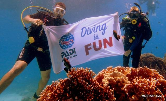 PADI AmbassaDiver Luca Hales, Diving is Fun!