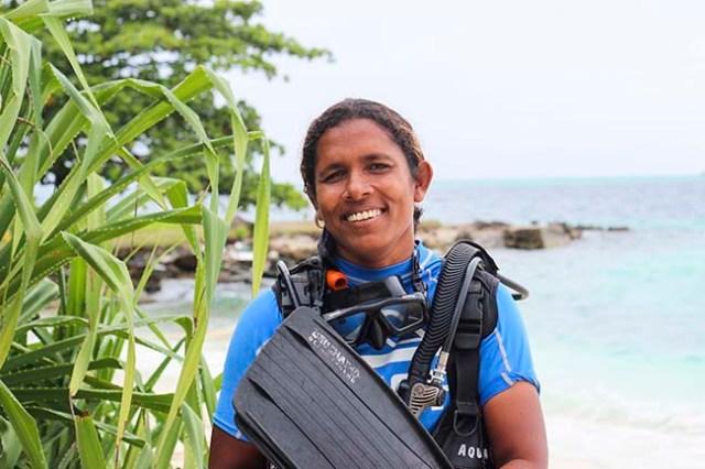 Zoona Naseem, best diving destinations for women